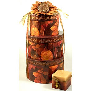 Flavors of Fall Deluxe Gift Basket -
