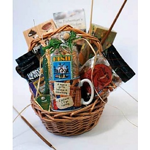 Gone Fishin Gift Basket -