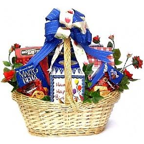 Happy Birthday Gift Basket -