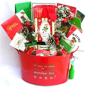Christmas Cheer Gift Basket -