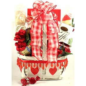 I Heart You!, Valentine's Day Gift Basket - Valentine's Day Gift Baskets