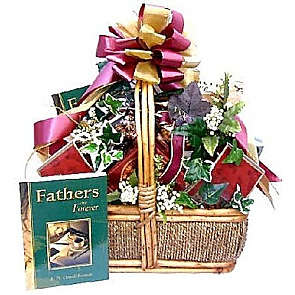 Happy Father's Day Gift Basket (Deluxe) -