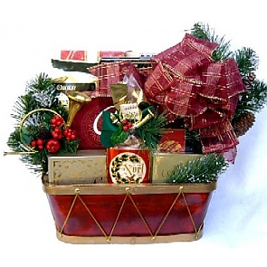 Spirit Of Christmas Gift Basket -