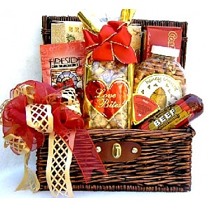 Sweet Indulgence Gift Basket - Valentine's Day Gift Baskets