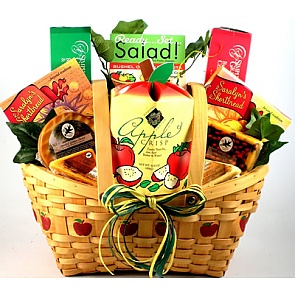 An Apple A Day Gift Basket -