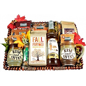 Autumn Splendor Gift Basket - Autumn Splendor Gift Basket #FallGiftBasket
