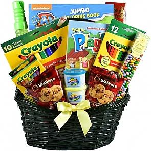 Basket O' Fun Gift Basket For Kids - Basket O' Fun Gift Basket For Kids