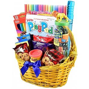 Basket O' Fun Gift Basket For Kids