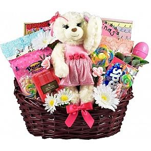 Beautiful Little Ballerina Gift Basket - Beautiful Little Ballerina Gift Basket