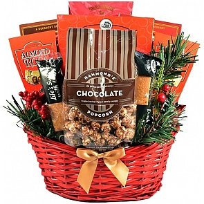 Chocolate Madness Holiday Gift Basket - Chocolate Madness Holiday Gift Basket #ChristmasGiftBasket #ChocolateGiftBasket