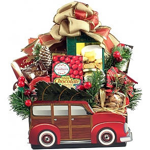 Memories of Christmas, Holiday Gift Basket -
