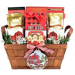 Christmas on the Farm - Christmas Gift Basket - Christmas on the Farm - Christmas Gift Basket