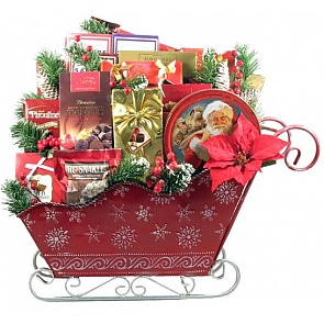 A Christmas To Remember Gift Basket -