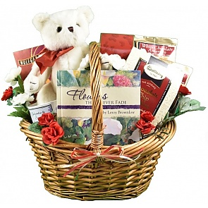 Comforting Gift Basket (Medium) - Comforting Gift Basket (Medium) - Sympathy Gift Basket