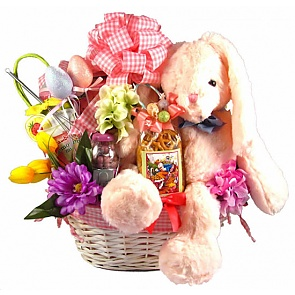 Cottontail Collection Easter Gift Basket (Large) -
