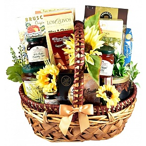 Country Sampler Gift Basket - Country Sampler Gift Basket #FallGiftBasket