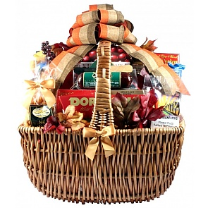 Cut Above Fall Gift Basket (Extra Large) - Cut Above Fall Gift Basket (Extra Large) #FallGiftBasket