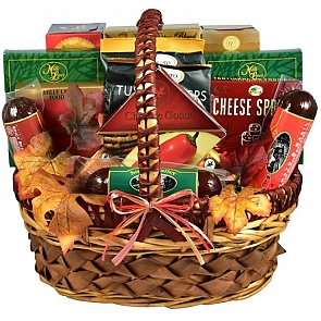 Cut Above Fall Gift Basket (Medium) - Cut Above Fall Gift Basket (Medium) #FallGiftBasket