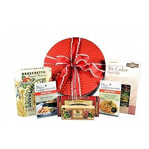 Dasher's Deluxe Dinner Box - Dasher's Deluxe Dinner Box #ChristmasGiftBasket