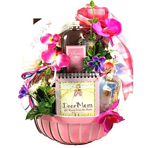 Dear Mom Gift Basket - Dear Mom Gift Basket