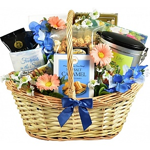 Deepest Sympathy Gift Basket (Medium) - Deepest Sympathy Gift Basket (Medium)