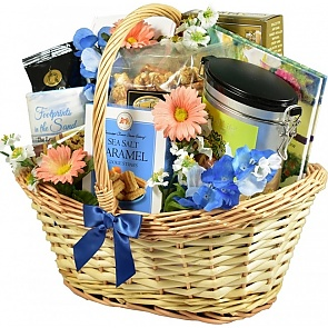 Deepest Sympathy Gift Basket (Medium)