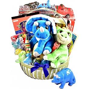 Dino-mite! Kids Gift Basket - Dino-mite! Kids Gift Basket #DinosaurGiftBasket