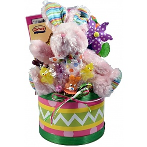 Easter Egg Hunt, Easter Basket For Kids - Small - Pink - Send kids Easter baskets online