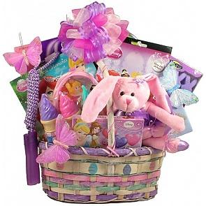 Pretty Little Princess Easter Basket - Send kids Easter baskets online - Girls Easter Baskets #GirlsEasterBaskets