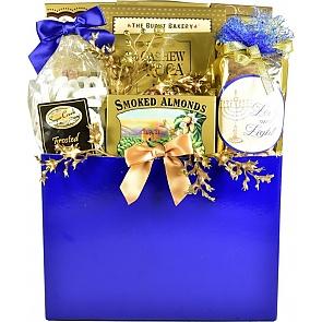 Elegant Gourmet Hanukkah Gift Basket (Large) - Elegant Gourmet Hanukkah Gift Basket (Large) #HanukkahGiftBasket