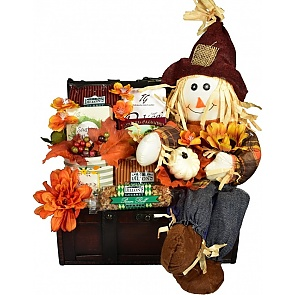 Fall Harvest Gift Basket - Fall Harvest Gift Basket - #FallGiftBaskets #ThanksgivingGiftBasket