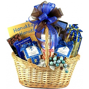 Hanukkah Family Gift Basket - Hanukkah Gift Baskets - Chanukah Gifts