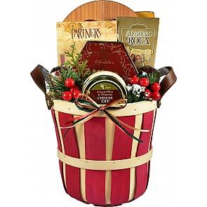 Festive Favorites, Holiday Gift Basket -