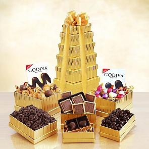 Ultimate Golden Godiva Tower  - Ultimate Golden Godiva Tower