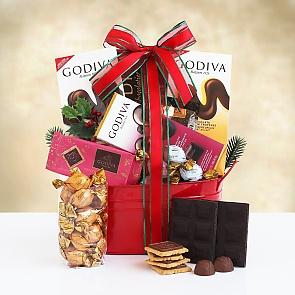 Godiva Holiday Tin - Godiva Holiday Tin