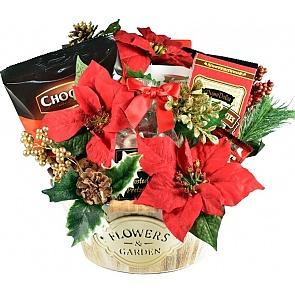 Gourmet Holiday Garden Gift Basket - Gourmet Holiday Garden Gift Basket #HolidayGiftBasket