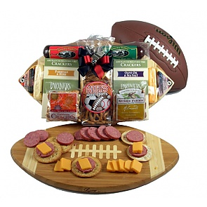 Halftime Favorites Football Gift Basket -