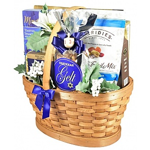 Hanukkah Treasures Gift Basket