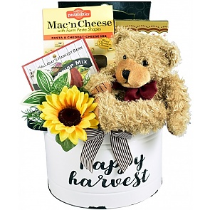 Happy Harvest Fall Gift Basket (Medium) - Happy Harvest Fall Gift Basket (Medium) #FallGiftBasket