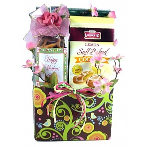 Goodies For Mom Gift Basket -