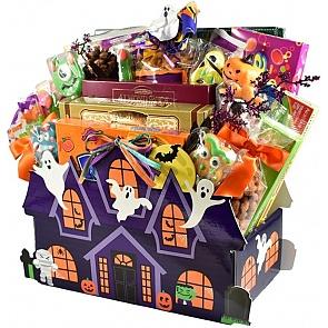 Hauntingly Good Halloween Gift Basket