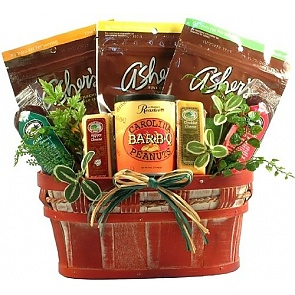 Healthy Living Sugar Free Candy Gift Basket -