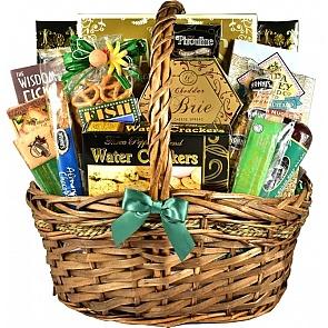 Here Fishy Fishy Gift Basket - Here Fishy Fishy Gift Basket #FishingGiftBasket