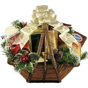 Holiday Splendor Gift Basket - Holiday Splendor Gift Basket #HolidayGiftBasket