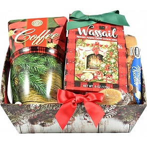 Holly Jolly Christmas Gift Basket