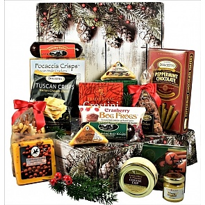 Home For The Holidays Care Package - Home For The Holidays Care Package #HolidayGiftBasket #ChristmasCarePackage