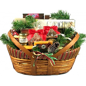 Home For The Holidays, Christmas Gift Basket (Large) -