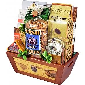 Hook, Line and Sinker Fishing Gift Basket