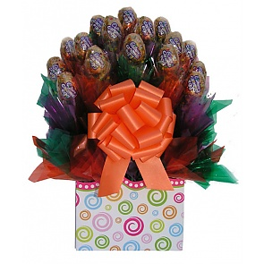 Cadbury Caramel Easter Candy Bouquet -