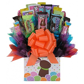 Easter Bunny Candy Bouquet -